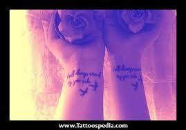 best friend anchor tattoos