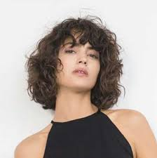 Bob Frisuren Curly Sue by Pretty Curly Hair Ideas With Bangs The Best