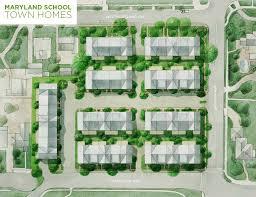 revised maryland town homes development seeks approval in