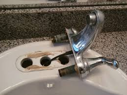 Replacing A Bathroom Faucet by Replacing A Bathroom Faucet And Drain All About The House