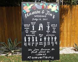 Wedding Program Chalkboard Lalitadoodles On Etsy