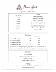 wedding cake order form flour girl custom baked goods