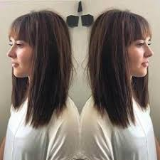 lob hairstyles with bangs inverted bob with ombre long bob with bangs bangs hairstyles