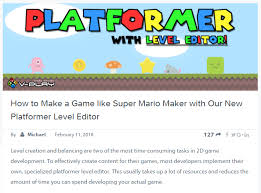 platform game with level editor release 2 8 3 new game center plugin and bug fixes