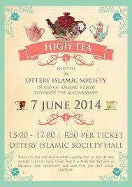 print work high tea invitation sunshinehello