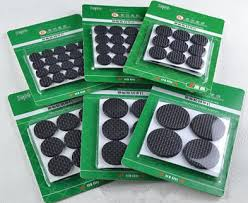 2017 slip pads furniture pads desk chair cushion pad rubber gasket