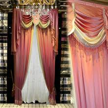 Silk Velvet Curtains Compare Prices On Silk Pink Curtains Online Shopping Buy Low