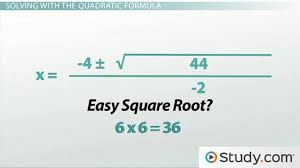 how to use the quadratic formula to solve a quadratic equation