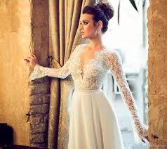 robe de mari e dentelle manche longue robe mariee manche longue fashion designs