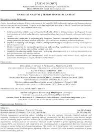 financial analyst resume corporate finance analyst resume entry level resume objectives entry