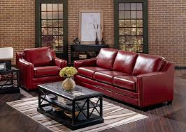 dark red leather sofa top grain leather sofa