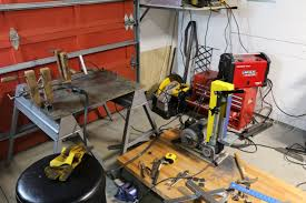 learning metal working while building a garage metal shop looks