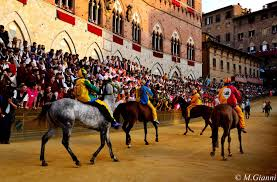 Palio Di Siena Flags Siena Info Point Guided Tours Tourist Services Palio