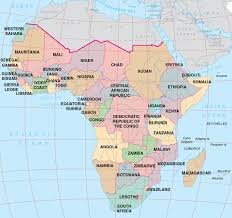 Burundi Africa Map by Sub Saharan Africa U2013 Sage Business Researcher