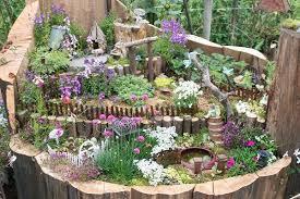 large fairy garden ideas