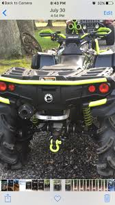 2016 outty 1000 with hmf titan qs exhaust can am atv forum
