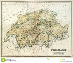 Map Of Switzerland And France by Switzerland Map Royalty Free Stock Photo Image 13542815