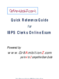 download ibps clerks cwe model grand test paper docshare tips