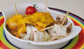 comment cuisiner du carrelet roulade de filets de carrelet gratiné aux chignons et cheddar