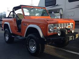 early ford bronco old classic 1972 4x4 off road truck