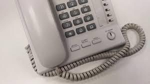 數碼專用電話 kx t7665 panasonic oa youtube