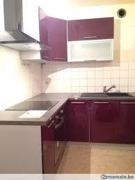 cuisine d occasion à vendre meuble de cuisine angle laquee a vendre 2ememain be