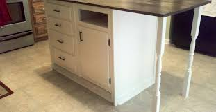 kitchen island base base cabinets repurposed to kitchen island hometalk
