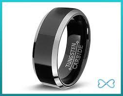mens black wedding bands tungsten wedding bands mens ring mens wedding bands black wedding