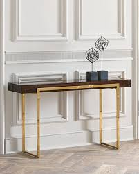 Z Oak Console Table Imported Console Table Horchow Com