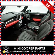 siege auto mini cooper brand imported pu material brim black color jcw style seat
