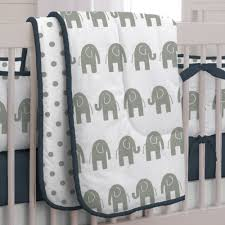 Navy Blue And White Crib Bedding by Tulip Garden Mini 4 Piece Crib Bedding Set Breathable Baby Mesh