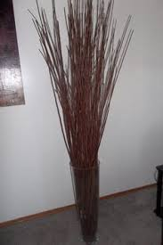 gold floor vase 36 inches wood gold leewadee 139 90