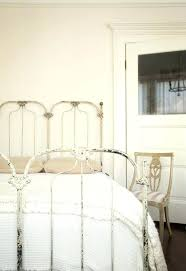 Antique White Metal Bed Frame White Iron Bed Frame White Iron Bed Frames In Modern Bedroom