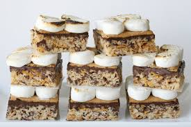 s u0027mores rice krispies treats recipe u2013 glorious treats