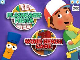 handy manny flicker u0027s flashcard fiesta ipad handy manny