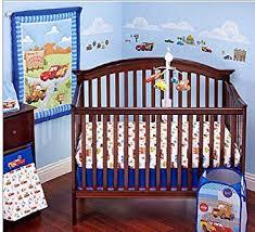 disney cars bedding set amazon com disney cars 4 piece crib bedding set includes bumper