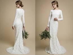 wedding dresses mermaid utta sleeves wedding dress tight fit wedding