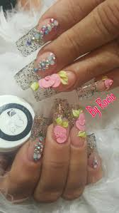 8 best nail art encapsulated glitter images on pinterest nail