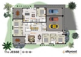 Dual Occupancy Floor Plans House Designs House Building Contractors Silkwood Homes