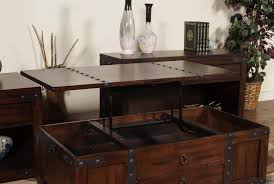 Caster Coffee Table Coffee Table W Lift Top Drawer Casters By Designs