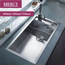 single kitchen sink faucet kitchen marvelous stainless steel sink with drainboard kitchen