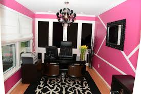 modern chic office pink wall interior 3066 home designs and decor