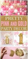 pretty pink u0026 gold party decorations party decorations