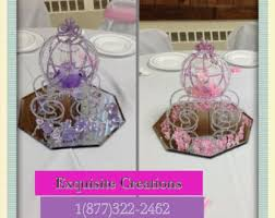 carriage centerpiece cinderella carriage wedding centerpiece fairytale wedding