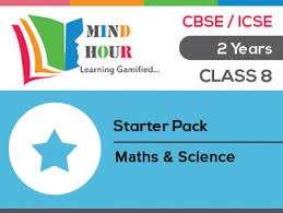 mind hour class 8 maths u0026 science cbse u0026 icse board starter pack