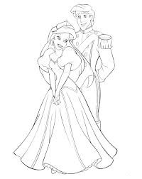 ariel princess coloring pages coloring page blog