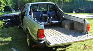 brat car the petrol stop subaru brat rear seats