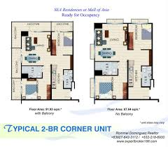 mall of asia floor plan real estate blog in the philippines sea residences at mall of asia