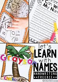 best 25 name writing activities ideas on pinterest kids