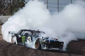 hoonigan mustang drifting meth head